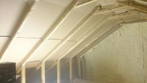 Spray foam Insulation Preperation