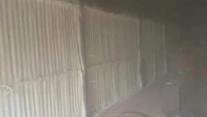 Shed Spray Foam insulation