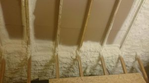 Spray foam Insulation Process