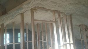 Attic conversion Spray foam Insulation