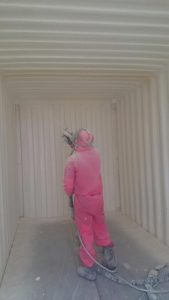 container foam insulation