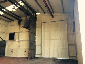 Commercial Spray insulation