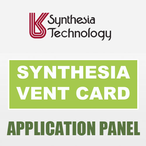 Ventcard sprayfoam application panel